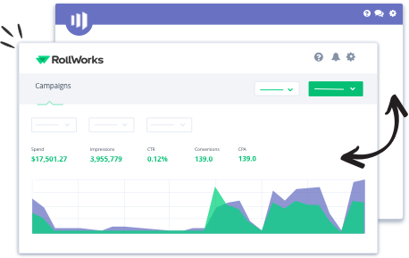 Rollworks campaign dashboard
