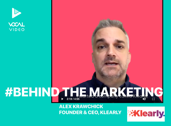 Behind the Marketing: Alex Krawchick, Founder & CEO of Klearly